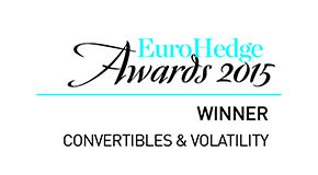 "Eurohedge Award for best ""Convertibles & Volatility Strategies"" fund"